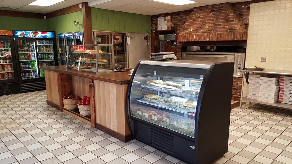 Custom pizzeria station