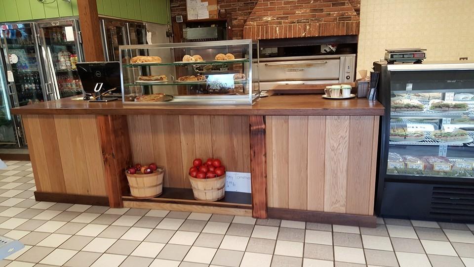 Custom bakery table
